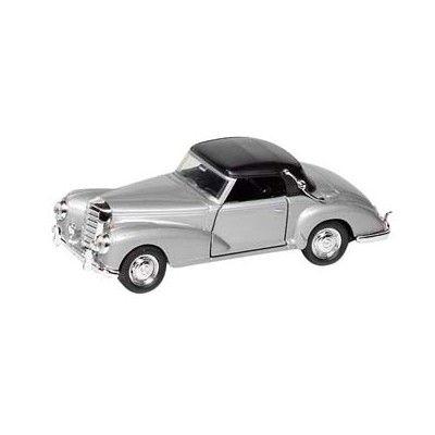 Bil i metall - Mercedes Benz 300s (1955) - silver
