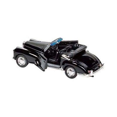 Bil i metall - Mercedes Benz 300s (1955) - svart cab