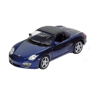 Bil i metall - Porsche - blå
