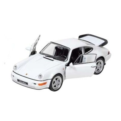 Bil i metall - Porsche - vit