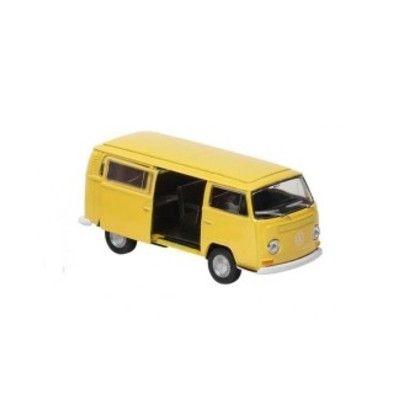 Bil i metall - Volkswagen bus T2 - gul