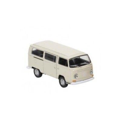 Bil i metall - Volkswagen bus T2 - creme