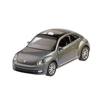 Bil i metall - VW New Beetle - grå