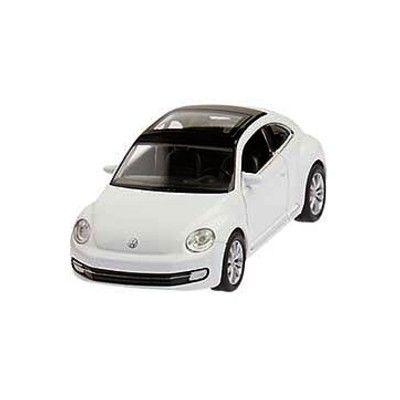 Bil i metall - VW New Beetle - vit