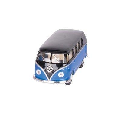 Bil i metall - Volkswagen Classical Bus (1962) - blå