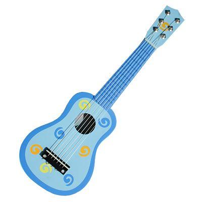 Gitarr - blå med snurror - Magni