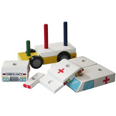Ambulans i trä - Magni