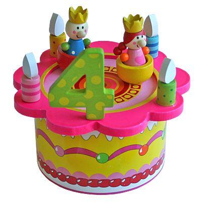 Födelsedagstårta - rosa