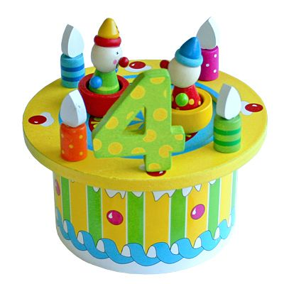 Födelsedagstårta - grön