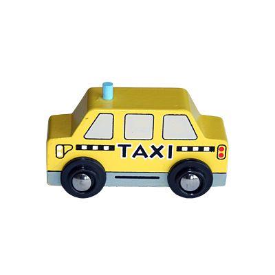 Träbil - taxi