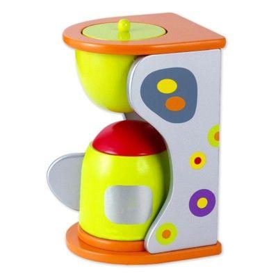 Leksaksmat - Kaffemaskin i trä