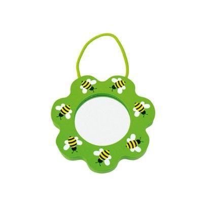 Förstoringsglas med snöre - grön - Jabadabado