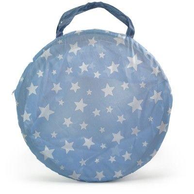 Lektunnel - ljusblå med vita stjärnor - Kids Concept