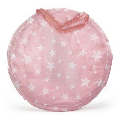 Lektunnel - rosa med vita stjärnor - Kids Concept