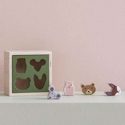 Plocklåda i trä - Edvin - Kids Concept