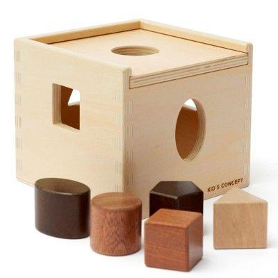 Klosslåda i trä - Natur NEO - Kids Concept