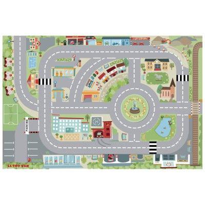 Lekmatta - stad med vägar - Le Toy Van