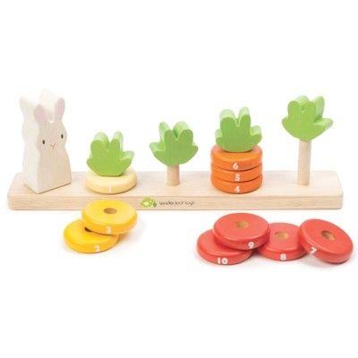 Pussel - Räkna morot - Tender Leaf Toys