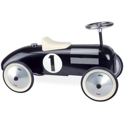 Gåbil i metall - Vintage svart - Vilac
