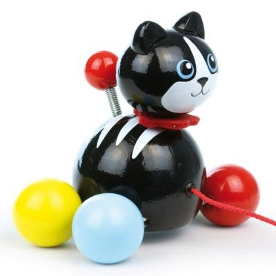 Dragleksak - katten Minou - Vilac