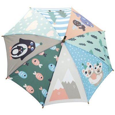 Paraply - Pingvin - Michelle Carlslund för Vilac