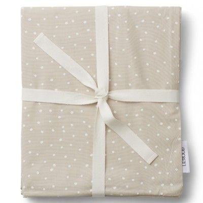 Påslakanset - Confetti sandy - baby 100x70 - ekologisk från Liewood
