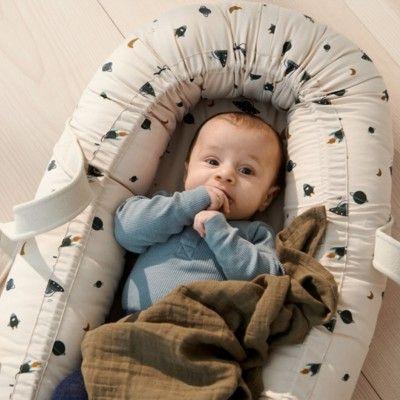 Babynest - cozy nest - Space sandy mix - ekologisk från Liewood