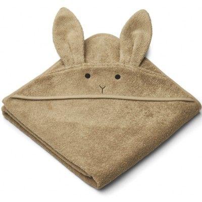 Juniorhandduk med luva - Rabbit oat - Ekologisk från Liewood