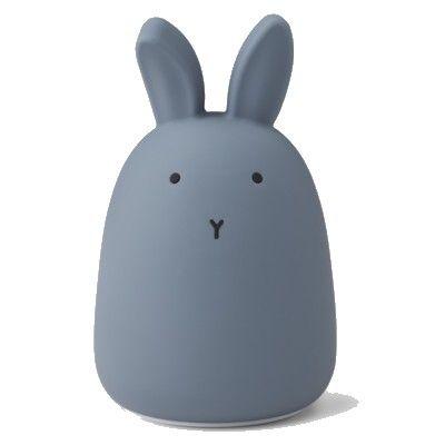 Nattlampa - Winston - Rabbit stormy blue - Liewood