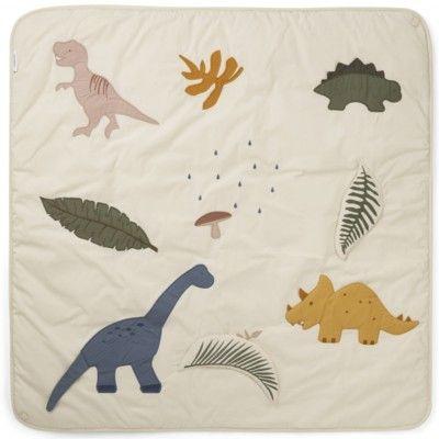 Lekmatta - Glenn activity blanket, Dino mix - ekologisk från Liewood