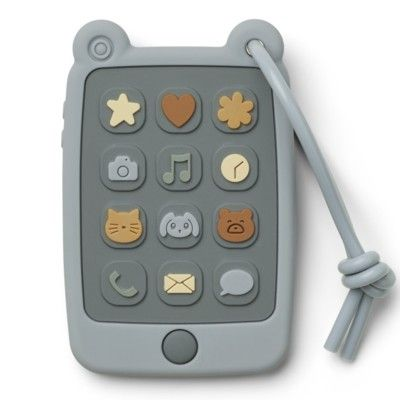 Min första telefon i silikon - Sea blue - Liewood