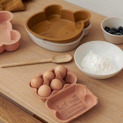 Bakform i silikon - Amory - Mr bear golden caramel - Liewood