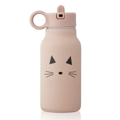 Drickflaska - Falk water bottle - Cat rose - 250 ml - Liewood