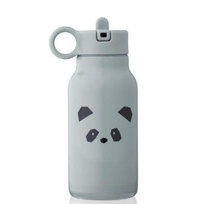 Drickflaska - Falk water bottle - Panda/blue fog - 250 ml - Liewood