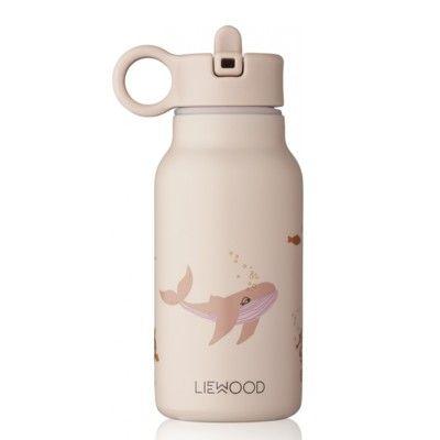 Drickflaska - Falk water bottle - Sea creature rose mix - 250 ml - Liewood