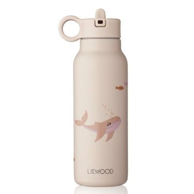 Drickflaska - Falk water bottle - Sea creature rose mix - 350 ml - Liewood