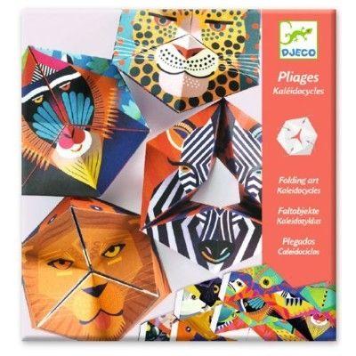 Origami - vika loppor - djur - Djeco