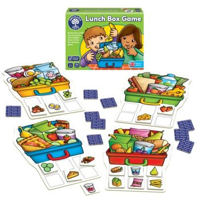 Spel - Lunch Box - Orchard Toys