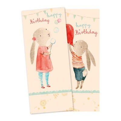 Kalasservetter - Happy Birthday - Maileg