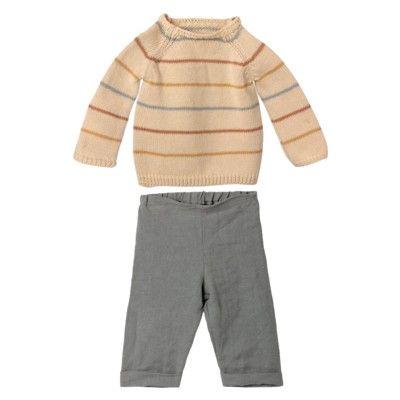 Kaninkläder - size 5 - tröja och byxor - Maileg