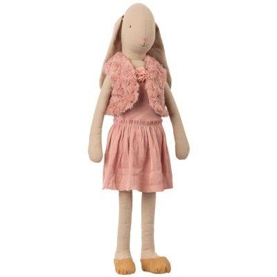 Kanin - mega, size 5 - ballerina, rose - Bunny med långa öron - Maileg