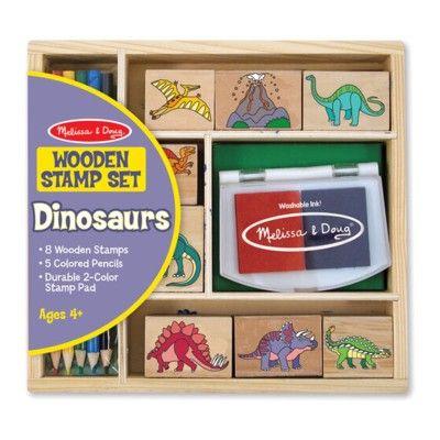 Stämpelset - Dinosaurier