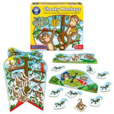 Spel - Busiga Apor - Orchard Toys