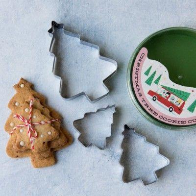 Kakformar - Christmas tree - 3 st