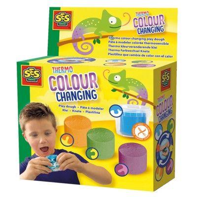 Lera - 4 st - ändrar färg - SES creative
