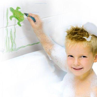 Badleksak - rita i badet, 8 st - SES Creative