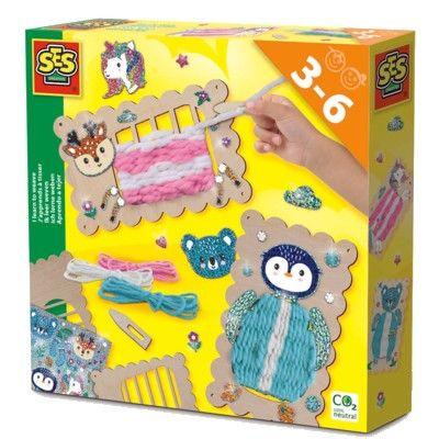 Jag lär mig väva - Kreativ leksak - SES Creative