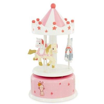 Speldosa med hästar - karusell