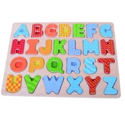 Pussel - stora bokstäver