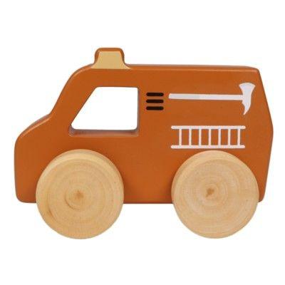 Träbil - brandbil